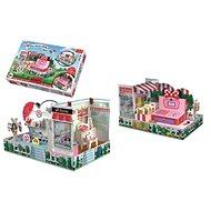Skládačka prostorová Obchod Myšky Minnie - Kreativní hračka