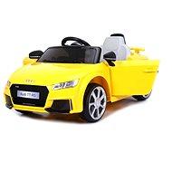 Audi TT RS žluté - Dětské elektrické auto