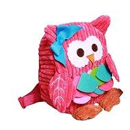 Discovery baby Batůžek do školky Sova růžový