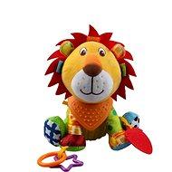 Discovery baby Lvíček Luke - Textilní hračka