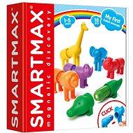 SmartMax My first Safari Animals - Magnetic Building Set