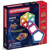 Magformers 62 - Magnetická stavebnice
