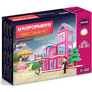 Magformers Sweet House - Magnetická stavebnice