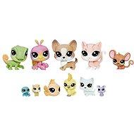 Littlest Pet Shop Velké balení 13ks zvířátek - Domácí mazlíčci