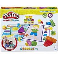 Play-Doh Textury & Nástroje (anglická verze) - Kreativní hračka