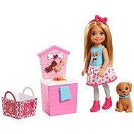 Barbie Vaření a pečení Chelsea - blondýnka - Panenka