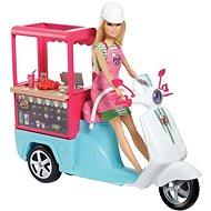 Barbie Vaření a pečení Bistro skútr - Panenka