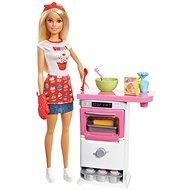 Barbie Vaření a pečení Herní set - Panenka