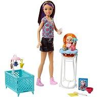 Barbie Chůva herní set II - Panenka