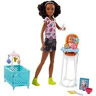 Barbie Chůva herní set III - Panenka