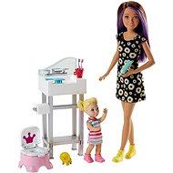 Barbie Chůva herní set IV - Panenka