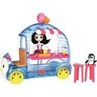 Enchantimals Vozík s tučňákem - Herní set