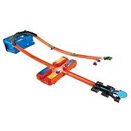 Hot Wheels Track Builder V kufříku - Zatáčka - Autodráha