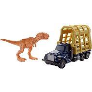 Matchbox Jurský svět Dinokáry T. Rex Trailer - Auta
