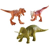 Jurský svět 3ks Mini Dino - hnědý + zelený + hnědý - Figurky