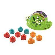 Fisher-Price Vkládačka zpívající šnek se zvuky - Interaktivní hračka