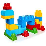 Mega Bloks Pytel kostek (80) modrý - Stavebnice