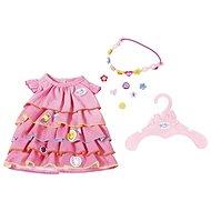 BABY Born Letní šatičky s nacvakávacími ozdobami - Doplněk pro panenky