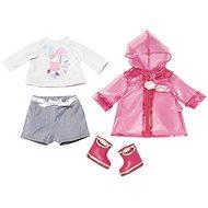 BABY Annabell Souprava do deště s holínkami - Doplněk pro panenky