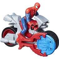 Spider Man na motorce - Figurka