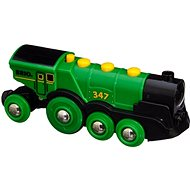 Brio World 33593 Velká zelená akční lokomotiva - Vláček