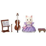 Sylvanian Families Město - cellistka hedvábná kočka