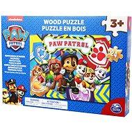Tlapková patrola, dřevěné puzzle - Puzzle