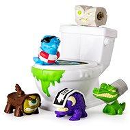 Flush Force 5 ks + záchod - Figurky