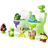 Flush Force 8 ks + 2 záchody - Figurky