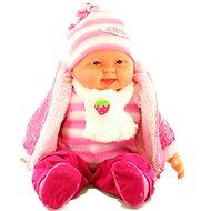 Miminko holčička - růžová - Panenka