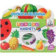 Pěnové magnety - Ovoce a zelenina
