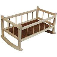 Dřevěná kolébka - Nábytek pro panenky