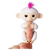 Happy Monkey bílá - Interaktivní hračka