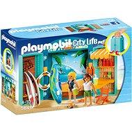 Playmobil 5641 Box na hraní Obchod s potřebami na surfování - Stavebnice