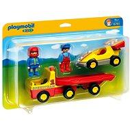 Playmobil 6761 Závodní auto s přívěsem pro přepravu - Stavebnice