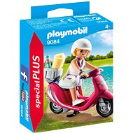 Playmobil 9084 Dívka na pláži se skútrem - Stavebnice