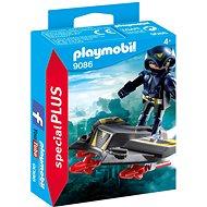 Playmobil 9086 Sky Knight a letadlo - Stavebnice