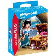 Playmobil 9087 Pirátka s truhlou pokladů - Stavebnice