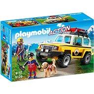Playmobil 9128 Zásahové vozidlo horských záchranářů - Stavebnice