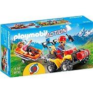 Playmobil 9130 Čtyřkolka záchranářů - Stavebnice