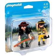 Playmobil 9217 Duo Pack Správce parku a pytlák - Stavebnice