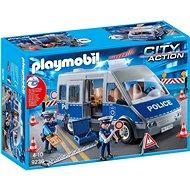 Playmobil 9236 Policejní anton se zátarasy - Stavebnice