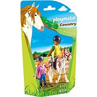 Playmobil 9258 Učitelka jízdy na koni - Stavebnice