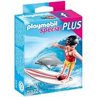 Playmobil 5372 Surfařka s delfínem - Stavebnice