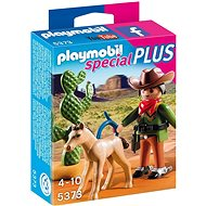 Playmobil 5373 Kovboj s hříbětem - Stavebnice