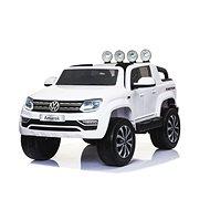 Volkswagen Amarok bílý - Dětské elektrické auto