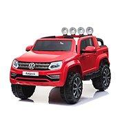 Volkswagen Amarok červená - lak - Dětské elektrické auto