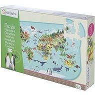 Avenue Mandarine Velké puzzle Zvířata na planetě - Společenská hra