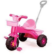 DOLU Moje první tříkolka s rukojetí, růžová - Tříkolka