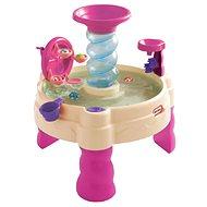 Little Tikes Spirálovitý vodní stůl - růžový 80cm - Dětský stůl